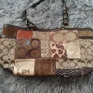 Patchwork Coach Purse